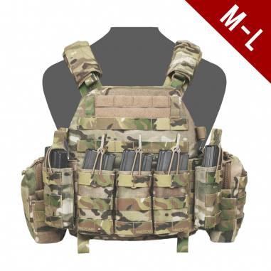 Plate Carrier, WARRIOR DCS DA5.56 / AK47, MEDIUM/LARGE MULTICAM, Coyote