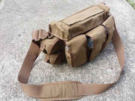 6bbe0ec7b5 Angol Katonai Lőszeres oldaltáska, Grab Bag, Coyote