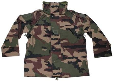 c04b82aa72 Francia Gore-Tex kabát, CCE terepszínű