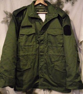 9ad2aab3dc M65 Kabát béléssel, Olívzöld, FBŐ – Légiós Military