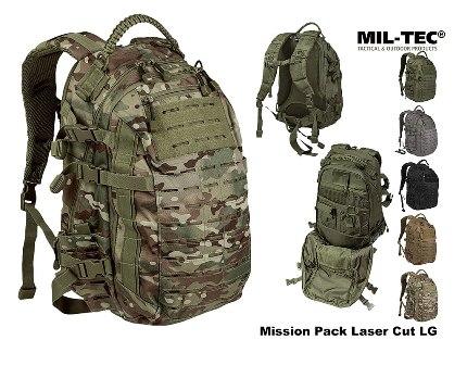 228fa7bb7b Mission Taktikai Hátizsák, Közepes, Lézer-Vágott Molle, Mil-Tec