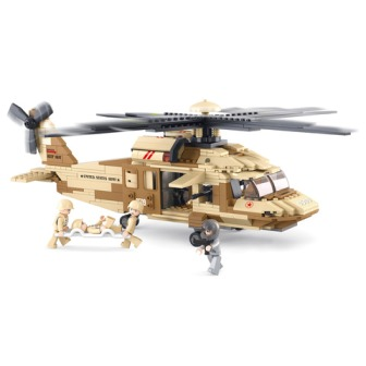 SLUBAN Blackhawk Helikopter